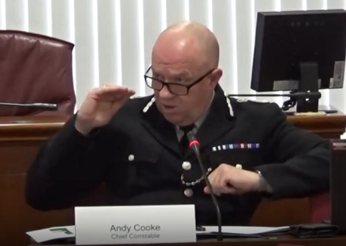 Merseyside Police Chief Constable Andy Cooke 7th February 2020