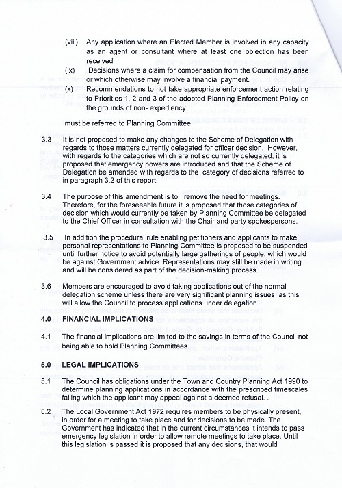 AOB report Planning Committee (Wirral Council) 19th March 2020 page 4