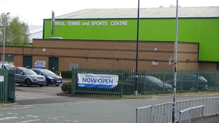 Wirral Tennis and Sports Centre, Bidston, Wirral 5th May 2021