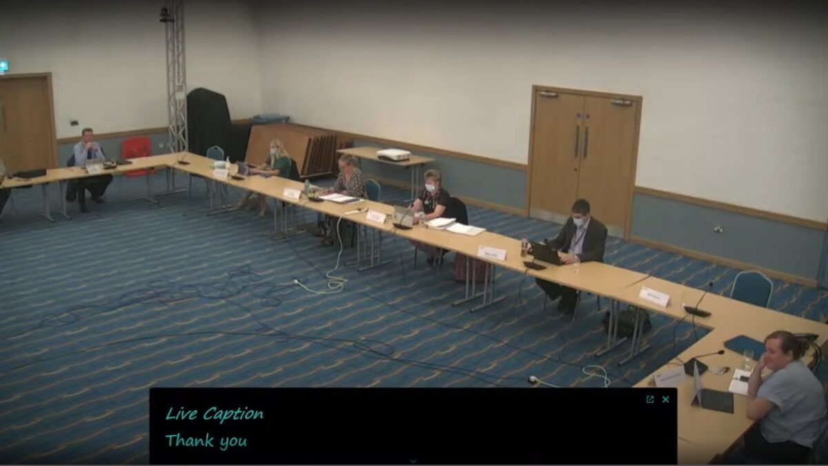 What happened at a public meeting of Wirral Council's Environment, Climate Emergency and Transport Committee (Wirral Council) 7th September 2021?